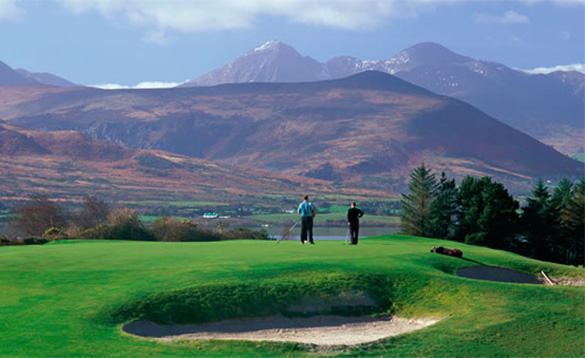 Irelands uncrowded golf/