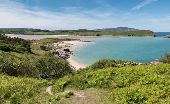 Stunning beaches and coves Ireland West/