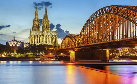 Historic Sights on a river cruise/
