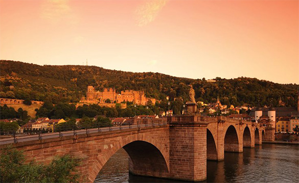 River cruises with historic backdrops/