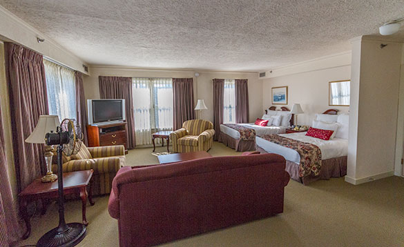 A Suite at the Historic Hotel Anchorage/