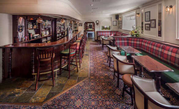 Bar at the Breffni Arms Hotel, Arva/