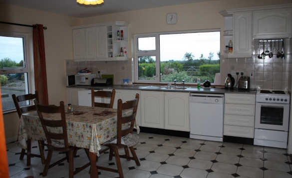 Kitchen/dining room at Cassidy's self-catering cottages, Ballyconnell/