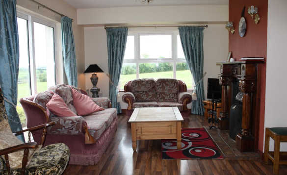 Lounge at Cassidy's self-catering cottages, Ballyconnell/