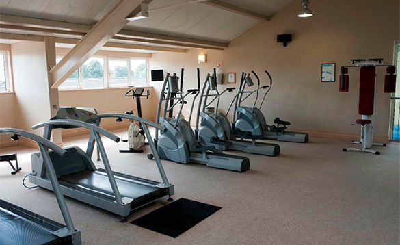 Gymnasium at the Castlerosse Hotel in Killarney /
