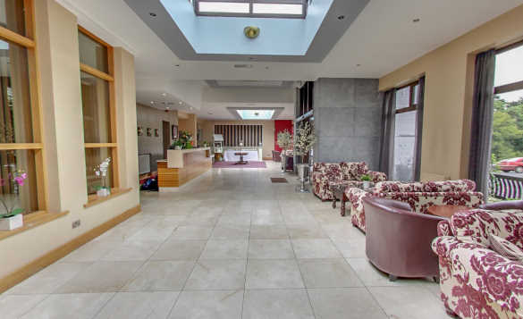 Reception at the Twin Trees Hotel in Ballina, Co Mayo/