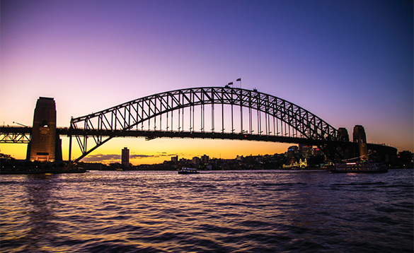 Sydney Harbour bridge/