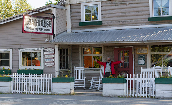 Talkeetna Roadhouse dining and accommodation/