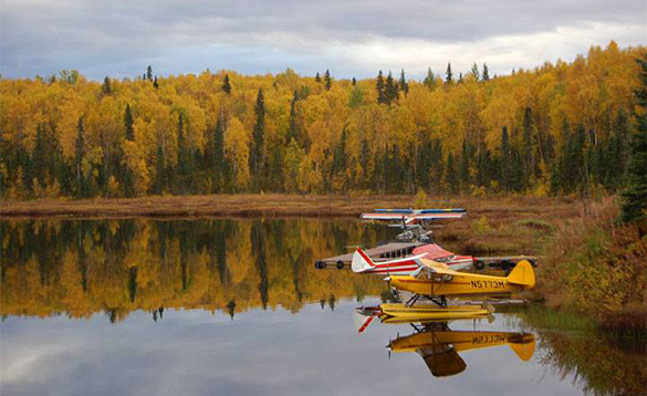 Talkeetna floatplane dock/