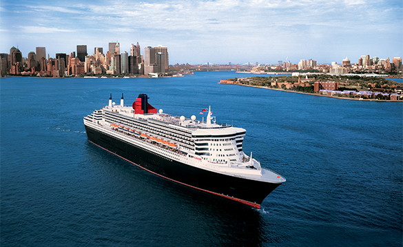 Cunard's Queen Mary 2 cruise ship/