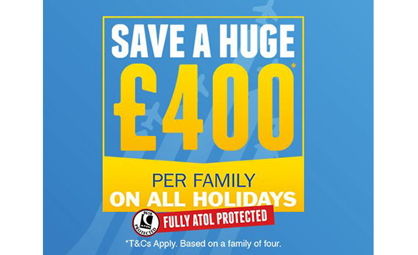 Jet2 holidays family saving offer/