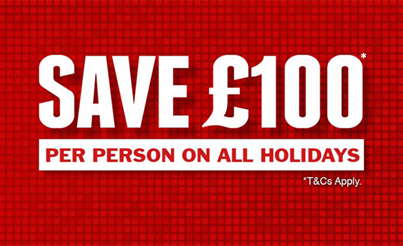 Jet2 holidays Save £100 offer details/