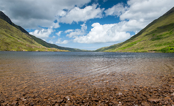 Unspoilt landscapes in co Mayo/