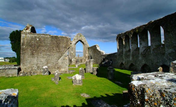 Dominican Friary Ruins, Co Roscommon Ireland/