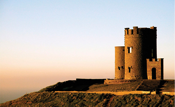 Castles of the past West Coast Ireland/
