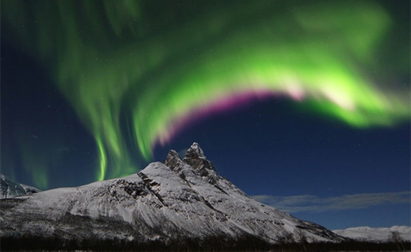 Northern Lights near Lauklines/