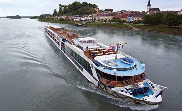 Cruise Europes big waterways/
