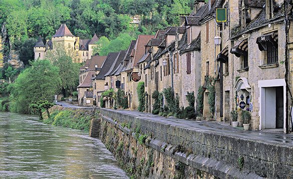 Quaint Riverside Villages And Towns/