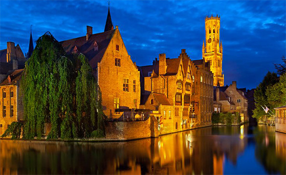 Delightful towns on scenic waterways/