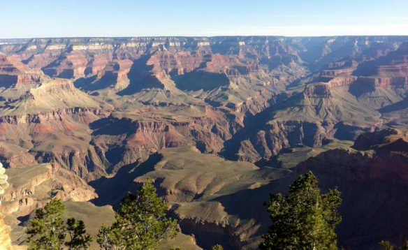 View across the Grand Canyon/